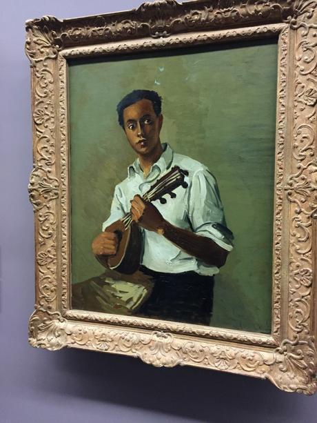 Le Noir à la mandoline