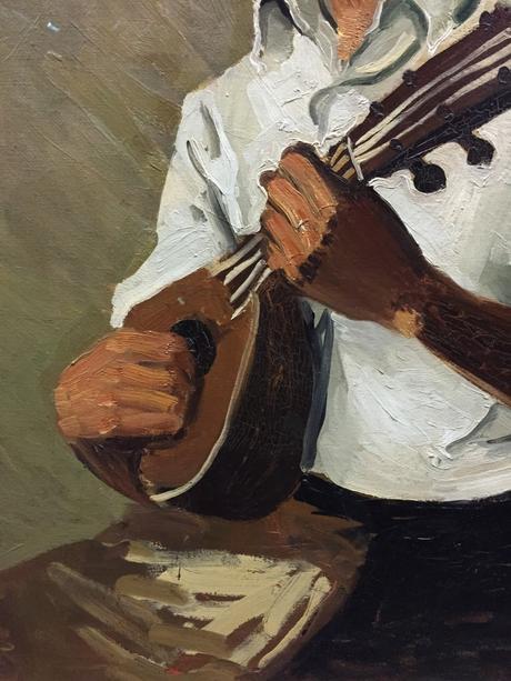 Le Noir à la mandoline  (Détail)