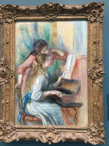 JJeunes filles au piano (détail)