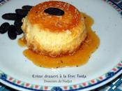 Crème dessert caramel fève tonka