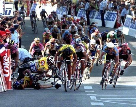 Les 5 plus grosses chutes du Tour de France