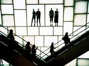 Nouvelles technologies métaphore l'escalator