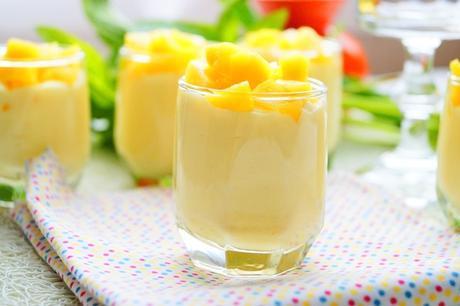 Mousse à la mangue facile & inratable