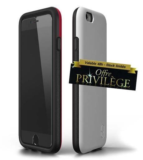 Offre privilège : -60% sur la coque de protection militaire la plus fine au monde pour iPhone 6