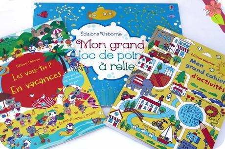 Les-vois-tu ? en vacances, Mon grand bloc de points à relier et Mon grand cahier d'activités - éditions Usbonre
