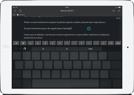 Astuces iOS 9: nos meilleures découvertes