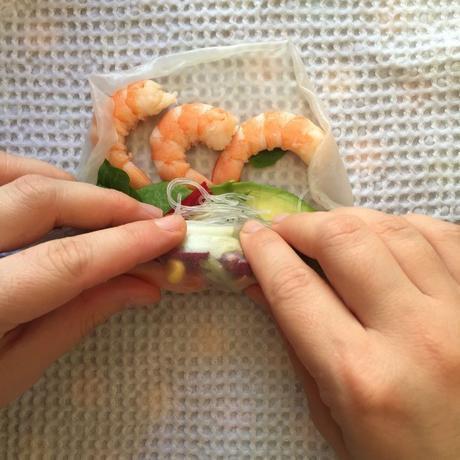 summer rolls recette facile
