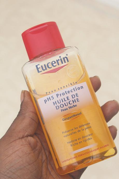 L'huile de douche Eucerin