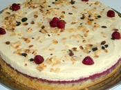 tourbillon merveilles gâteau amande framboise mascarpone)
