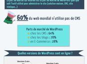 parts marché WordPress dans monde