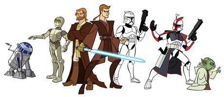 Les 9 Neufs Vies de La Guerre des Étoiles