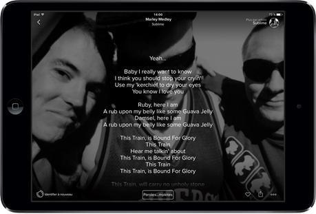 Astuce Apple Music: en avant les paroles!
