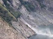 Entre Grenoble Briançon, montagne s'écroule, suite encore