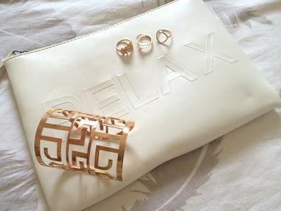LOOK DU JOUR - Maxi dress & gold