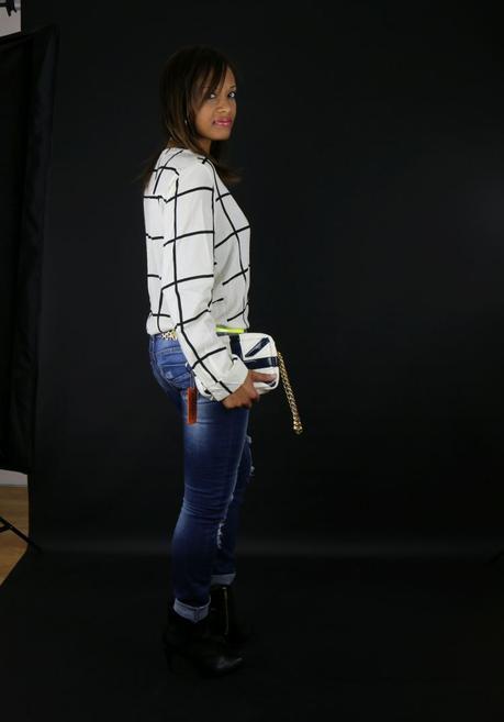 SHOOTING J'ai fait mon Choies : mon chemisier à carreaux