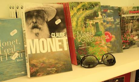 Boutique de souvenirs à Giverny