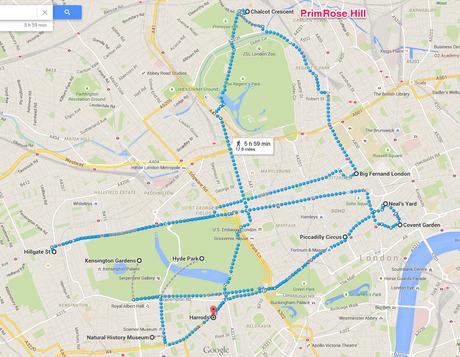 Plan d'une journée à Londres