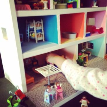 La maison Playmobil home made de Liloute !
