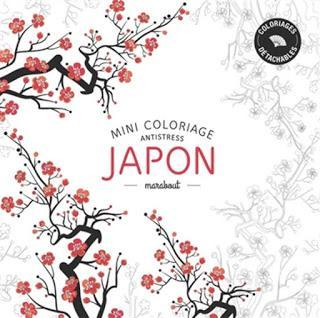 Mini coloriage anti stress japon paperblog - Coloriage mini force ...
