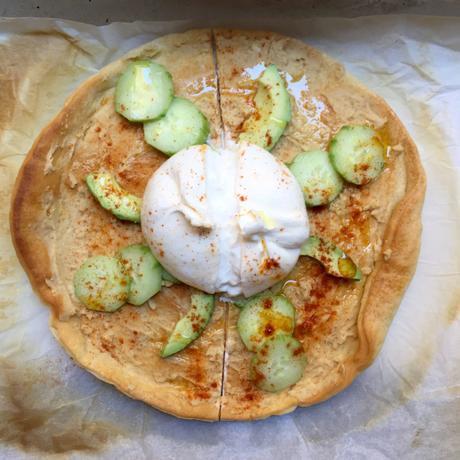 pizza veggie d'été recette facile
