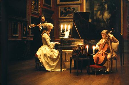 Barry Lyndon / Candle on the screen