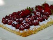 Tarte fraises bois