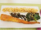 Carottes chou Kale rôtis four (vegan)