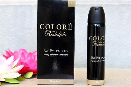 On dit bye bye aux racines grâce au spray colorant éphémère de coloré par Rodolphe!