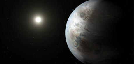 Kepler 452b, la planète la plus semblable à la Terre jamais observée. Une