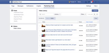 Facebook offrira de nouveaux outils vidéos aux administrateurs de Pages