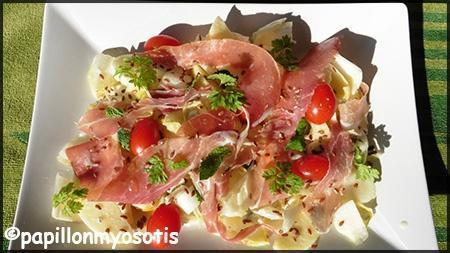 salade d'endives, jambon de parme et pomme_2