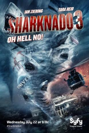 [Critique] SHARKNADO 3 : OH HELL NO !