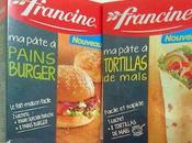 préparations francine pains burger tortillas [#francine #farine]
