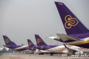 Thaïlande : compression de personnel chez Thai Airways