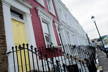 Un peu de couleur à Notting Hill