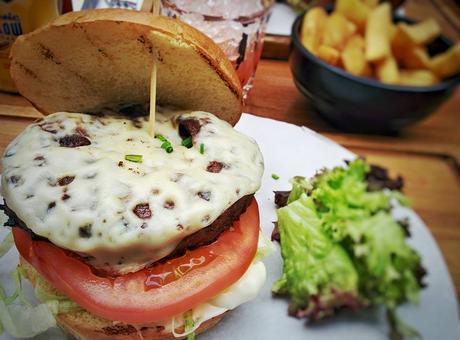 Un hamburger à Soho