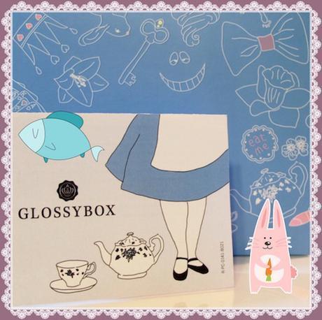 Glossybox d'avril : Au pays des Merveilles... et des poissons
