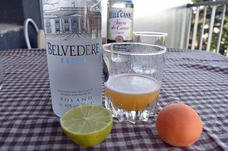 Cocktail Belvedere Sweet Apricot