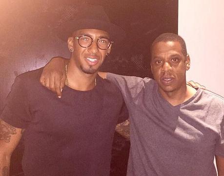 Un footballeur signe dans l'écurie de Jay-Z