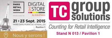 TC Group Solutions présente son PLV intelligent à la Paris Retail Week