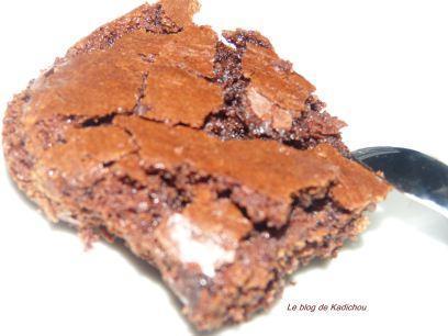 Gateau au chocolat mi-fondant : Récupération de blancs d'oeufs