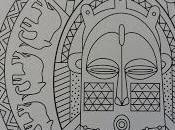Chronique coloriage anti-stress Masques mandalas colorier