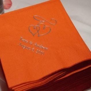 serviette-table-imprimees