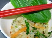Nouilles sautés japonaise, choy carotte