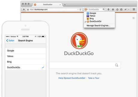 DuckDuckGo le moteur de recherche anti-espions