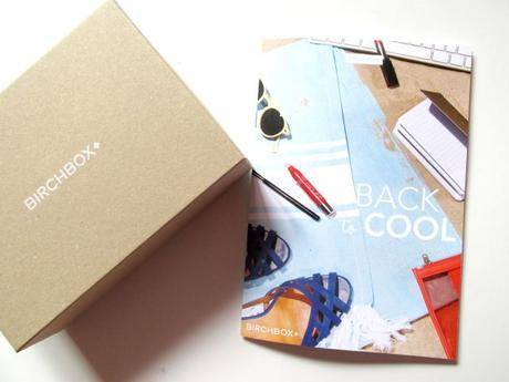 Birchbox aout back to cool