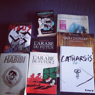 Mes lectures d'été: BD et romans graphiques