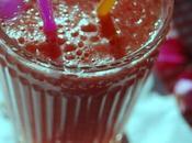 pastèque l'eau rose