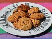 cookies noisette avec pâte pépites chocolat