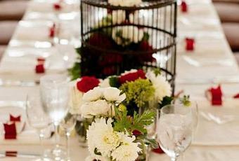 D coration de table de mariage rouge et ivoire paperblog - Deco mariage rouge et blanc pas cher ...